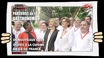 Un parcours gastronomique en Ile-de-France ! avec Valérie Pécresse et  Babette de Rozières, @BabetteDR  @vpecresse  @TVdeschefs